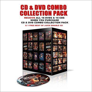 CD DVD Combo Collection Pack