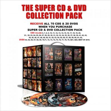 SUPER DVD & CD COLLECTION PACK